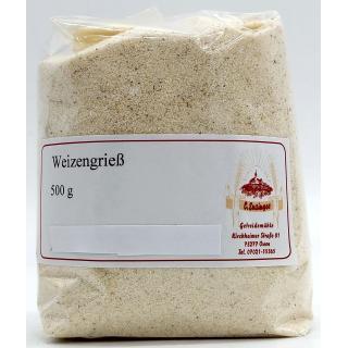 Weichweizengrieß - 1 kg Ensinger Mühle