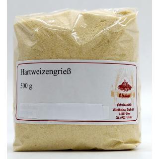 Hartweizengrieß - 1 kg Ensinger Mühle